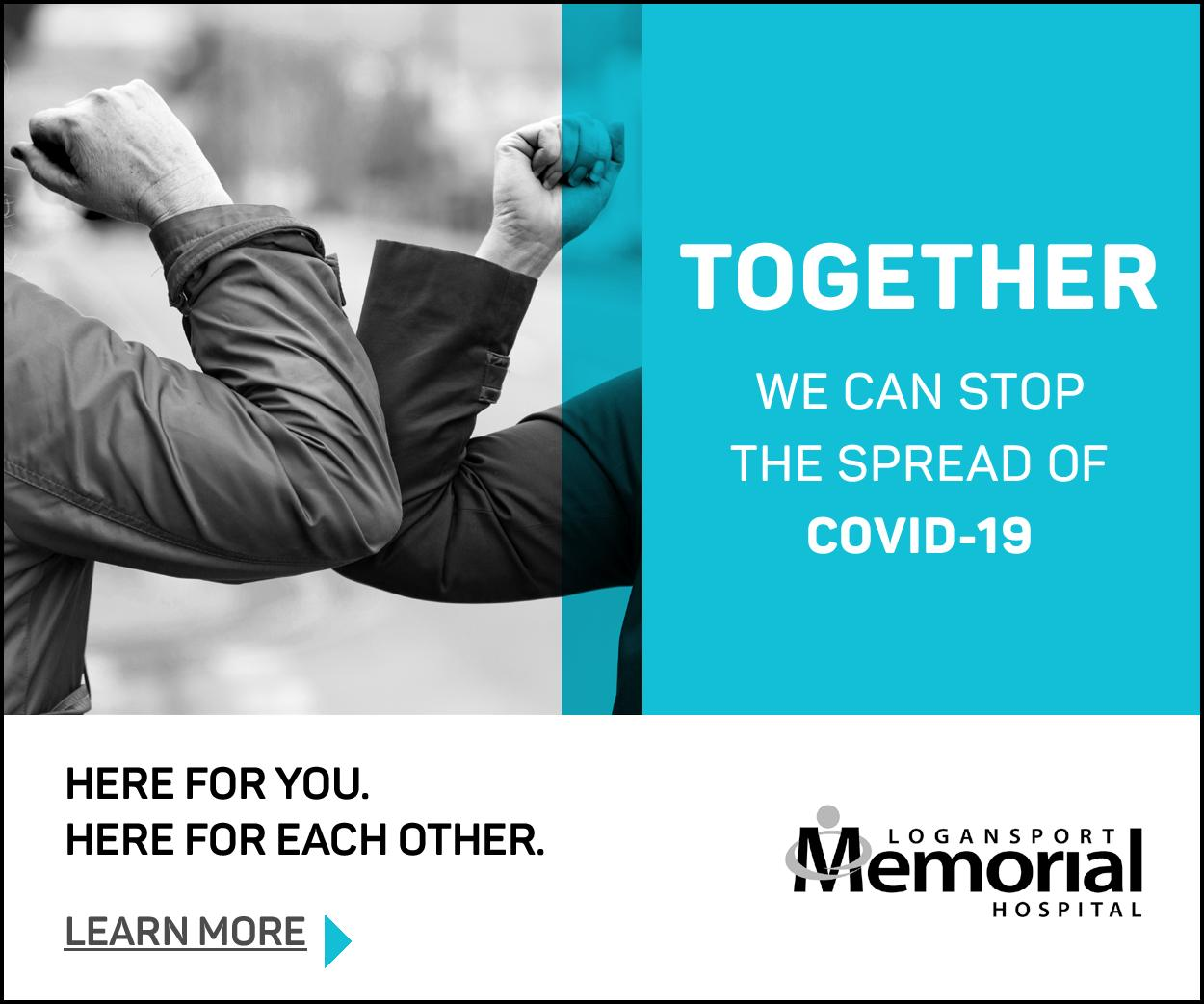 Logansport Memorial Hospital - Stop the Spread of COVID 19
